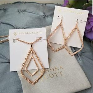 Rose Gold, Kendra Scott, Simon, Necklace